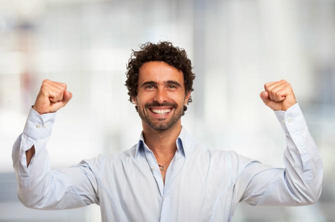 Medewerker met passie, enthousiast, enthousiasme, veranderen, verandering