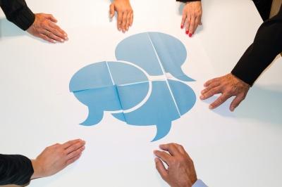 Co-creatief communiceren, co-creatie, cocreatie, cocreatief, communiceren, praten, gesprek, gesprekken, dialoog