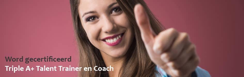 coach, trainer, gecertificeerd, triple A+