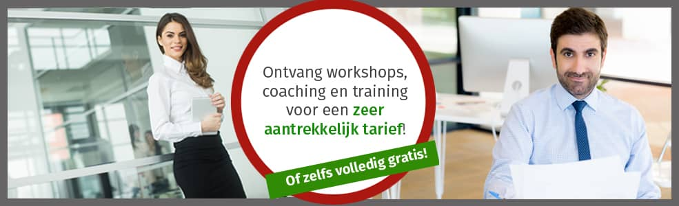 Coaching, training, gratis, excelerate, Excelerate, Talent, Program, programma, Excelerate your Talent Program