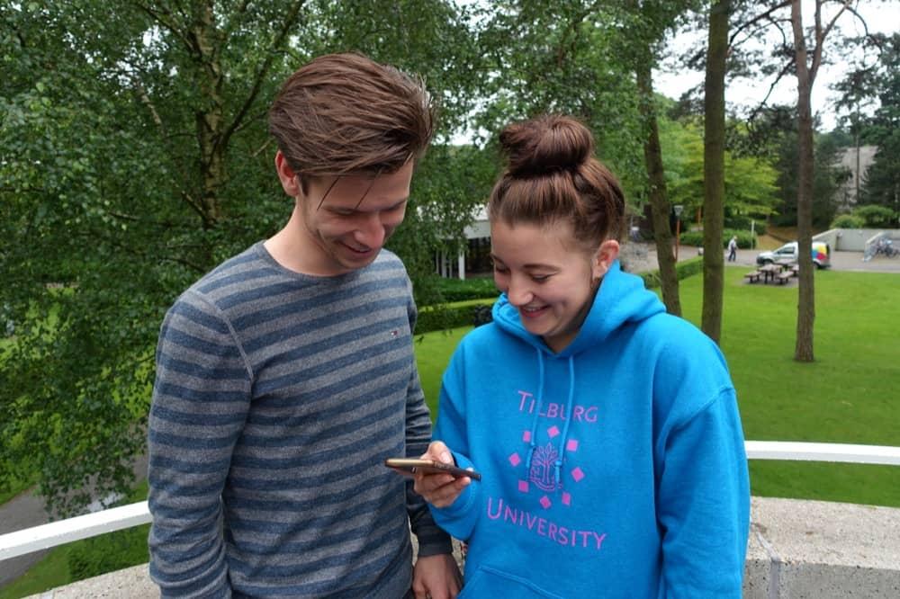 studenten, student, Tilburg University, UvT, studentimized, blended, learning, online, mobiel, mobile